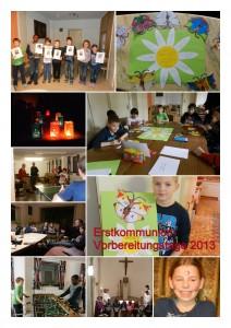Collage-Erstkommunionvorbereitung 2013-v1