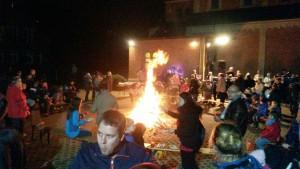 St. Martin´s Fest Umzug und Lagerfeuer