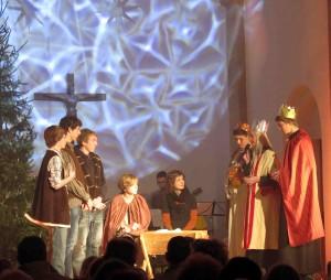 Krippenspiel der Jugend am Heiligen Abend