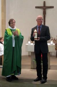 Verabschiedung des langjährigen GemeindehelfersGeorg Kniffke aus dem Dienst